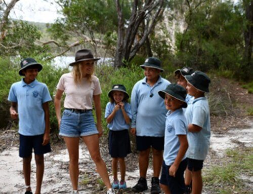 Junior Rangers learn to Care for Country